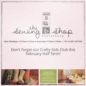 The Sewing Shop, Canterbury - Screenshot from Website